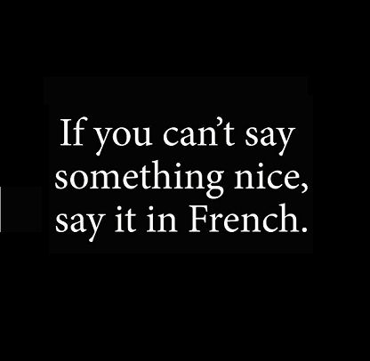 Publicidad en francés