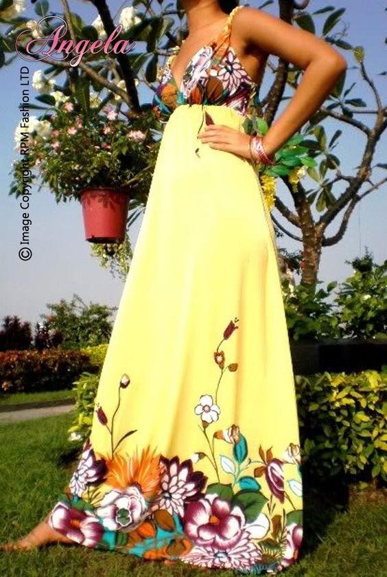 Maxi Dress (ANGE-1066) $30