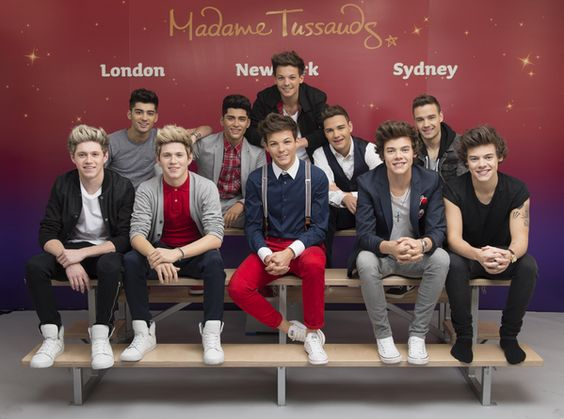 The boys' wax figures, unveiled this morning! WOW... just wow... Louis' and Niall's are really good, Harry's isn't too bad either. I feel like Liam's and Zayn's need some work though