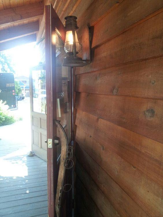 lampara puerta buena idea