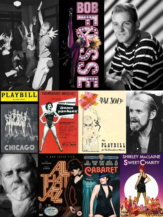 "Robert Louis ""Bob"" Fosse (June 23, 1927 – September 23, 1987) was an American actor, dancer, musical theater choreographer, director, screenwriter, film editor & film director. He won an unprecedented 8 Tony Awards for choreography, as well as one for direction. He was nominated for an Academy Award 4 times, winning as director for Cabaret. He was closely identified with his third wife, Broadway star Gwen Verdon. She was the dancer/collaborator/muse upon whom he choreographed much of his…"