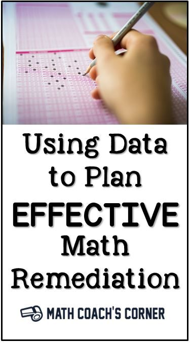 Data is everywhere! How can we use it to plan effective math remediation?
