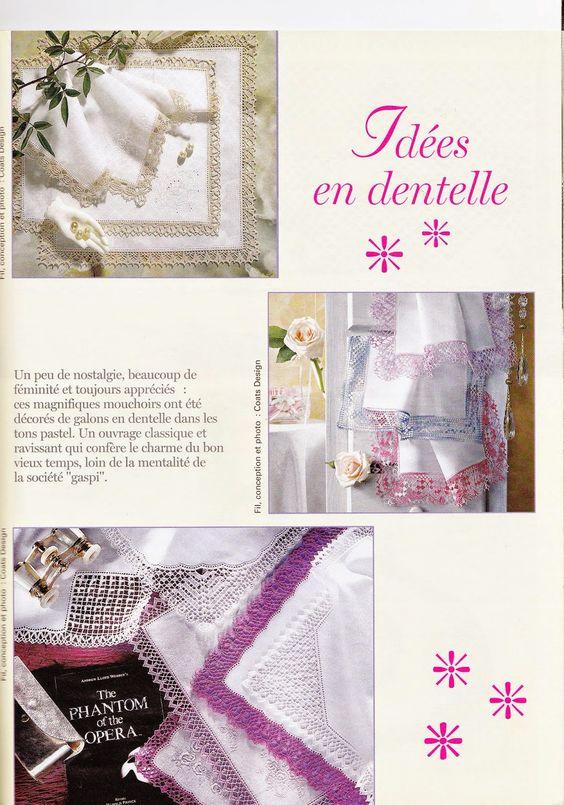 créations crochet: °°° Mouchoirs °°°