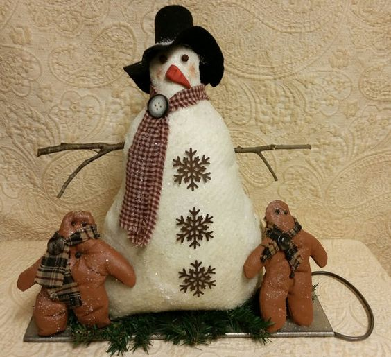 Hey, I found this really awesome Etsy listing at https://www.etsy.com/listing/166269377/snowman-and-ginger-babiesvintage