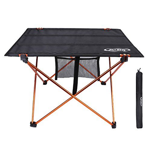 G4free Ultralight Portable Folding Table Compact Roll Up Tables