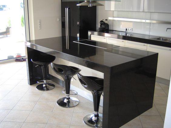 Nero Assoluto India wird in Indien abgebaut Die Oberfläche ist - granit arbeitsplatten küche preise