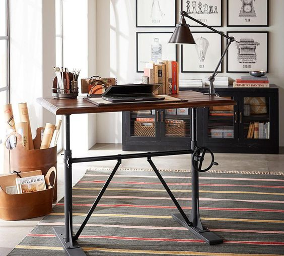 standing Desk from Pottery Barn
