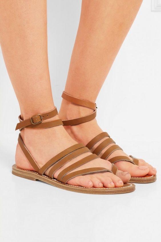 K. Jacques St Tropez - Hesperide Leather Sandals