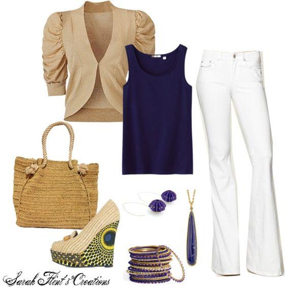 Summer style, created by sarahflint on Polyvore