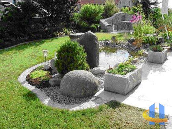 garten stone vorgarten pinterest garten und steine. Black Bedroom Furniture Sets. Home Design Ideas