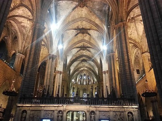 ¡Maravillosa, la Catedral de #Barcelona! // Cathedral of Barcelona, always wonderful!