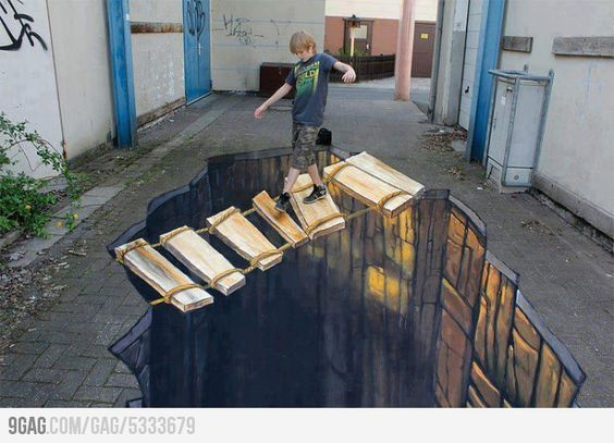 woah, kid! awesome street art.
