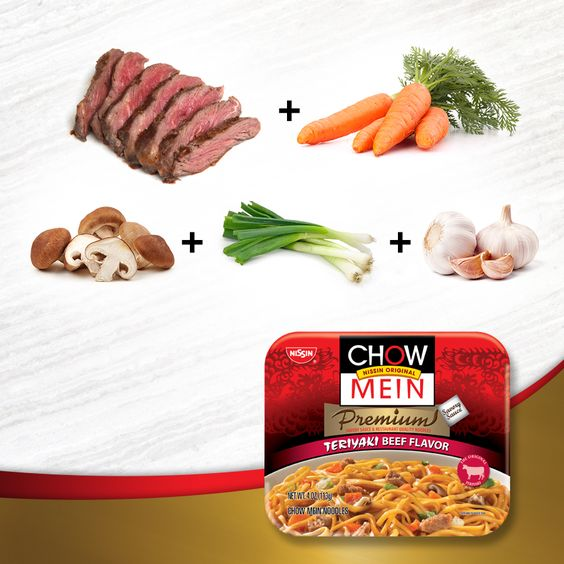 The secret to a worthy dinner is in the premium ingredients. Chow Mein, a restaurant-quality meal without reservations.