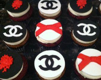 Chanel chanel fiesta party decoraciones-Chanel por DesignsbyDazey