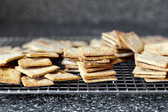 wheat thins from @deb | smittenkitchen