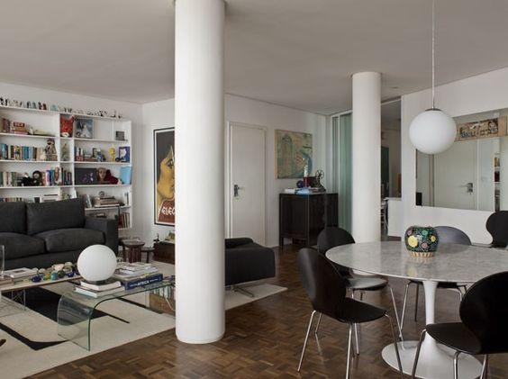 Atriz reforma ícone de SP para ver cidade - Casa Vogue | Interiores