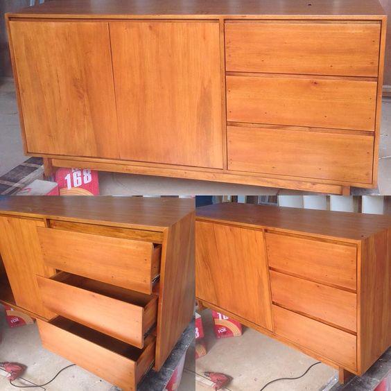 Just Console..done.. #insinyurkayu #depok #Indonesia #mahogany #mahoni #console #meja #woodwork #woodworking de insinyurkayu
