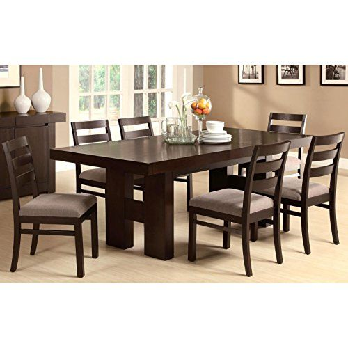 Westover Hills Brown 8 Pc Square Dining Room 1877 0 8pc Set