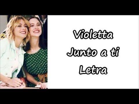 Violetta Junto A Ti Letra Youtube Disney Records Martina Stoessel Walt Disney Records