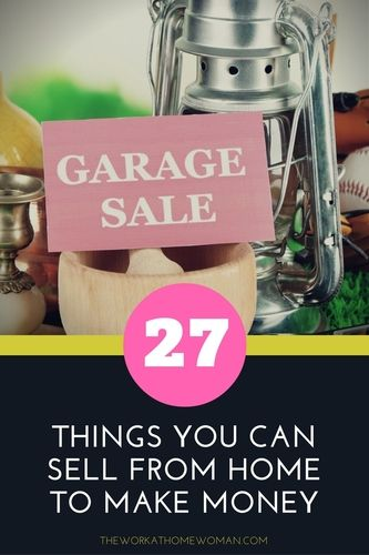 If you need some extra pocket cash, here are 27 crazy things you can sell from…