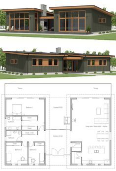 House Plan Home Plan House Designs Homeplans Houseplans Housedesign Floorplans Architecture Adhousepla House Exterior Dream House Plans New House Plans