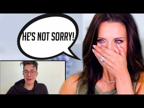 Tati Westbrook Reacts To James Charles Apology Video She Cried Youtube James Charles Charles Cry Youtube