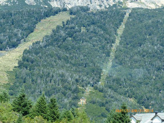 Cerro Catedral en verano