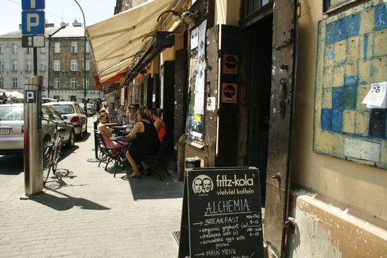 Cafes by Day, Bars by Night: Alchemia – Emily's Guide to Krakow