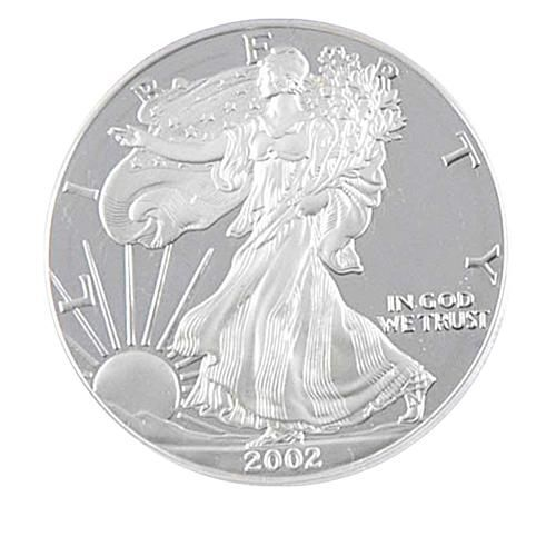 Coin Collector 2002 Proof Silver Eagle Dollar In 2020 Silver Eagle Coins Silver Bullion Bullion Coins