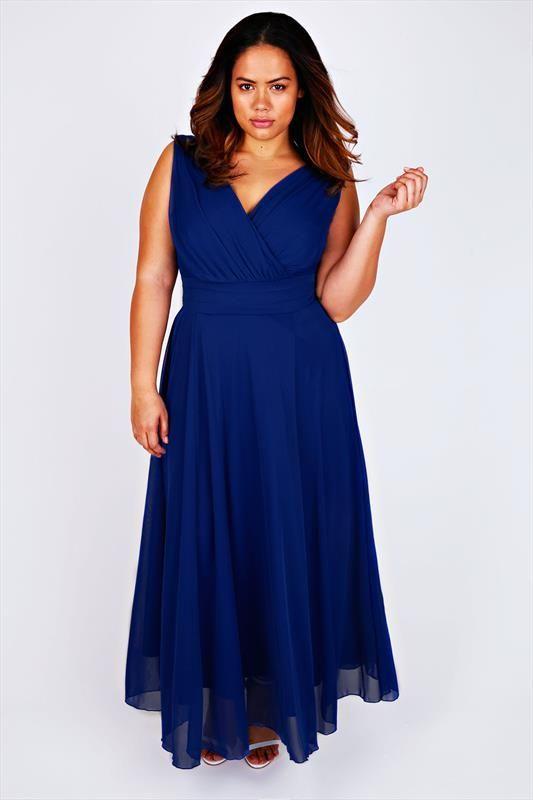 robe longue grande taille habillee