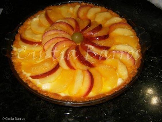 Receita de Torta de maçã - Tudo Gostoso