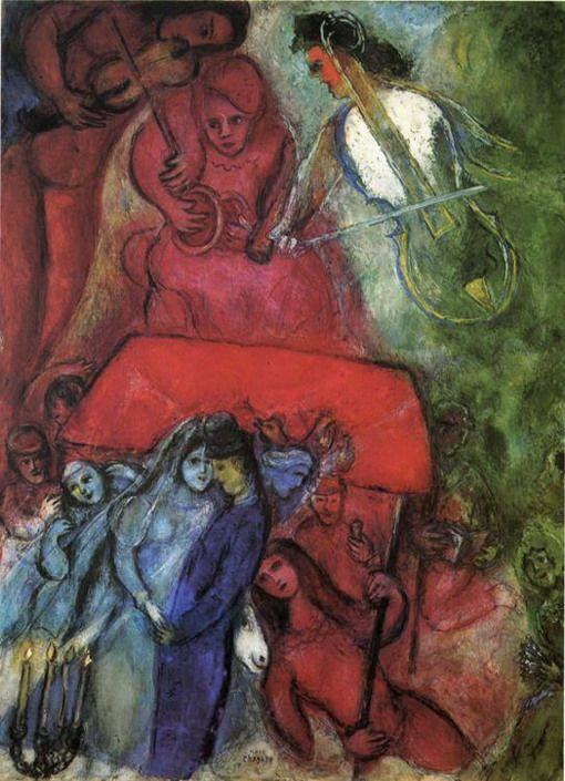 "Marc Chagall - ""The Wedding"", 1944"