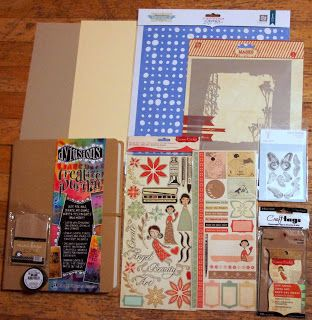 Dylusions creativejournal pages   Mixed Media Monday - Announcing a new kit club!