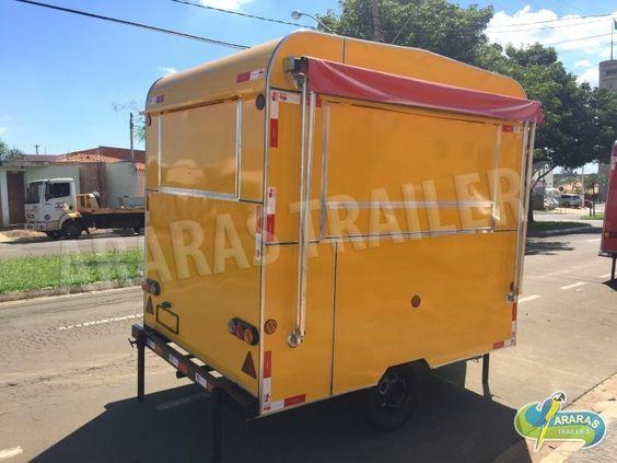 ARARAS TRAILERS - Fábrica de trailers, Food trailers e Food Truck