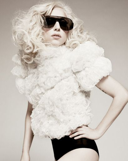 """Gaga doesn't shock me...her fashions just """"normal"""" cuz I was a teen in the 80's baby!"""