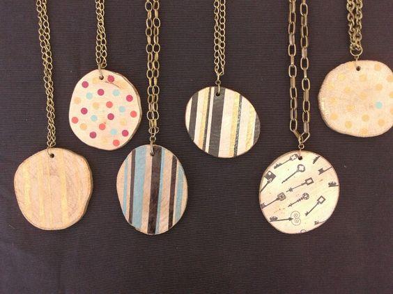 Wood necklace - collar de madera