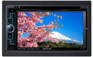 """Kenwood DDX616 6.1"""" Double-DIN Navigation Ready Multimedia DVD Receiver with Bluetooth by Kenwood. $400.00. Amazon.com                If you've been looking for a great double-DIN multimedia receiver, Kenwood's DDX616 is a great choice. This DVD receiver features a 6.2-inch motorized touchscreen, direct iPod/iPhone control, a rear USB input, rear camera input, and offers hands-free calling with built-in Bluetooth. It's equipped with a 50W x 4 MOSFET amplifier, and offers three ..."""