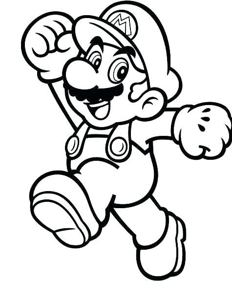 Super Mario Coloring Page Best Of Stock Mario Color Pages Line