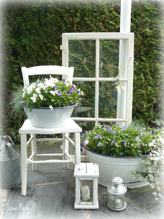 Alte fenster deko ideen - Deko ideen terrasse ...