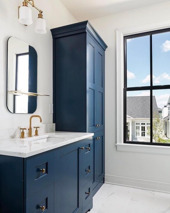 My Favorite Benjamin Moore Paint Colors Blue Bathroom Vanity Bathroom Vanity Designs Blue Bathroom