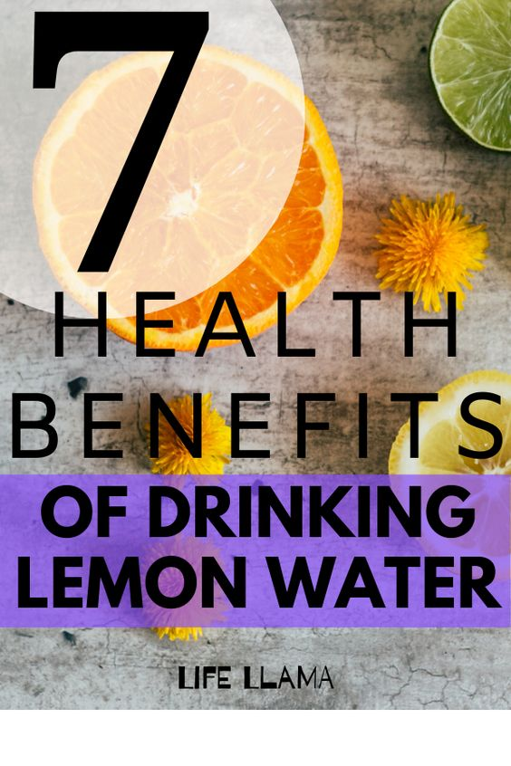 Lemon water benefits 16833