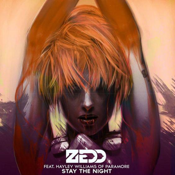 Zedd, Hayley Williams – Stay the Night (single cover art)