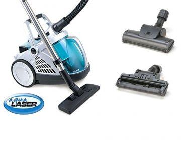 Neue Generation: Aqua Laser® Vacuum Jet beutelloser Staubsauger Nass und Trockensauger mit Wasserfiler & Hepa-Filter sales by JOLTA® (Vacuum Jet 3 inkl. Turbobürste) - 1