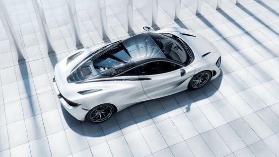 McLaren 720s CGi on Behance