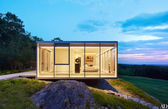 Toshiko Mori–Designed Glass Houses Dot This Incredible Hudson Valley Compound Photos | Architectural Digest