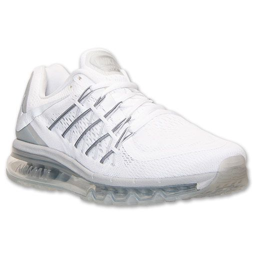 Nike Air Max 2015 Negro  Zapatos Blanco Hombres Running Trainers Zapatos  c71079