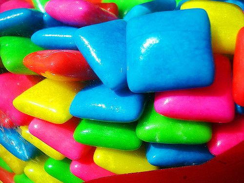 What color are your gums: Color, Neon Colors, Rainbow Colors, Chewing Gum, Bright Colors, Bubble Gum, Color Color