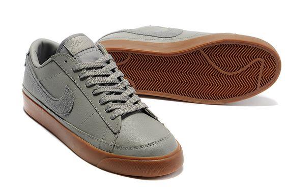 Mens Nike Blazer Low 09 ND Medium Grey Brown 371760 017
