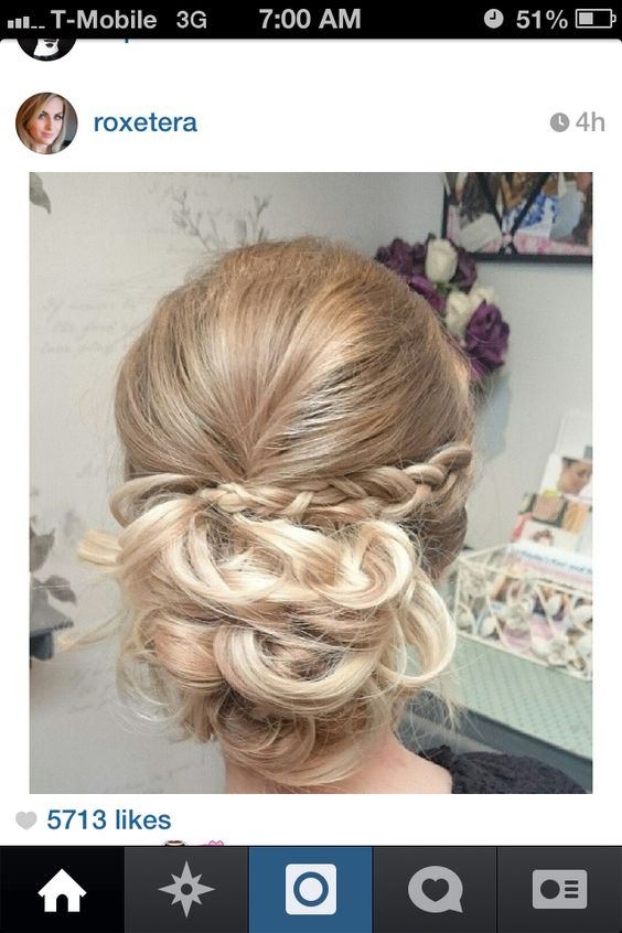 Perfect prom updo