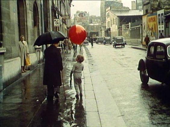 Le balon rouge